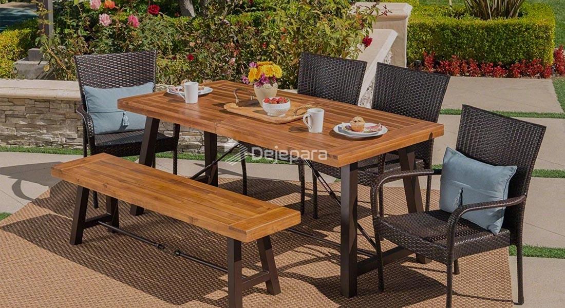 Kayu Jati untuk Furniture Outdoor