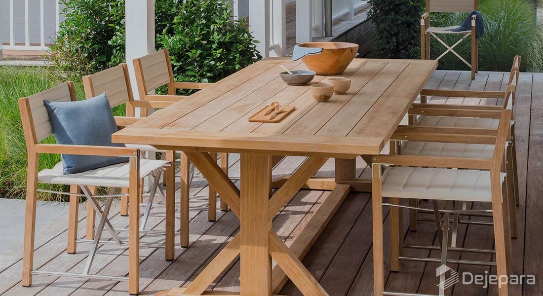 Memanfaatkan Teras dan Halaman Anda dengan Eksterior 'Furniture Outdoor'