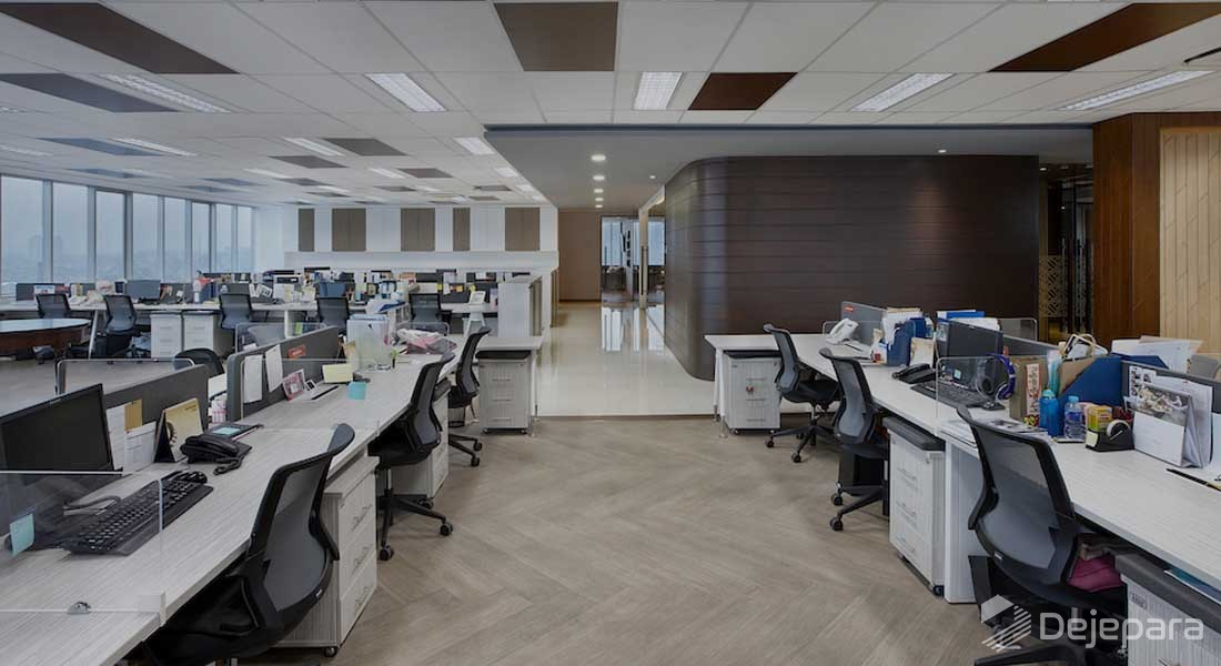 Office Interior to Boost Employees Productivity